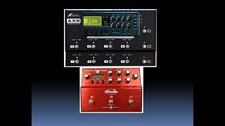 Atomic Amplifire vs Fractal Audio AX8 Amp Tones comparison