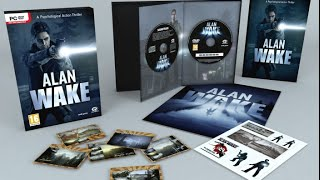 Unboxing Alan Wake Collectors Edition