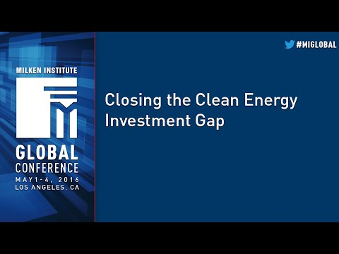 Closing the Clean Energy Investment Gap