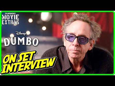 "DUMBO | On-set Interview With Tim Burton ""Director"""