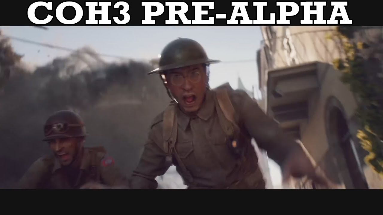 What I Think about Company of Heroes 3 (Pre-Alpha)