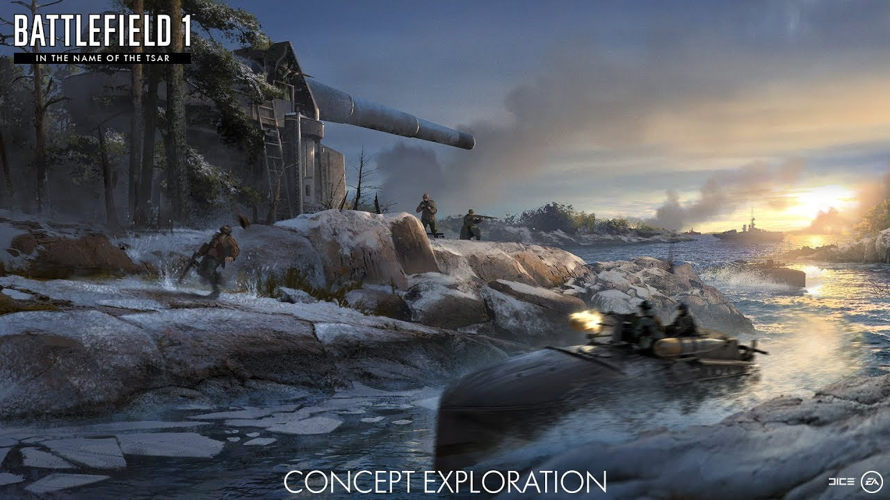Battlefield 1 CTE CARYCYN NOWA MAPA