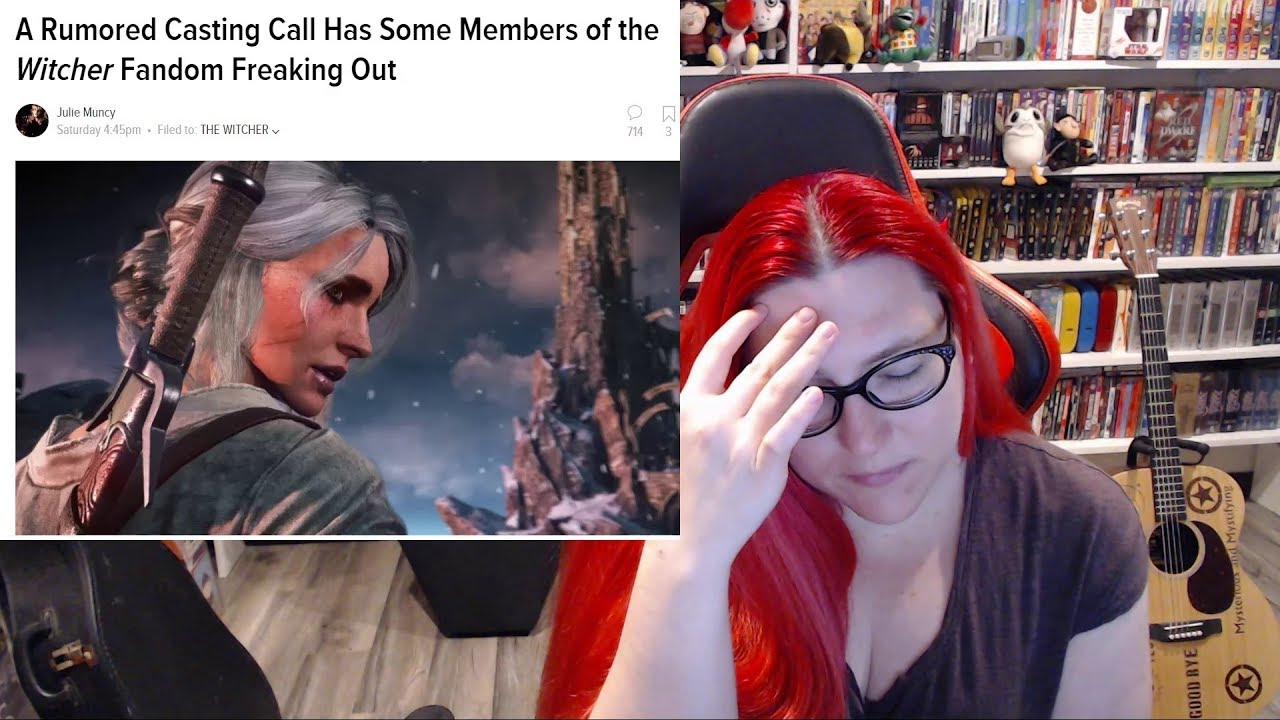 Random Reacts-Witcher Netflix Stupid Diversity Stunt Casting