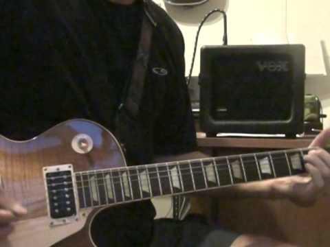 Vox MINI 3 Guitar Amplifier Demo