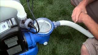 Pompes de filtration à sable & Stérilisateur au sel INTEX (12568)