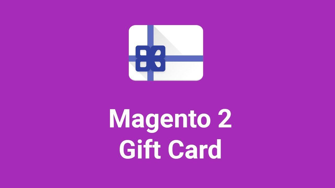 Gift Card Magento 2