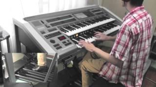 Electone ELS-02X「September」を02アレンジして弾きました。