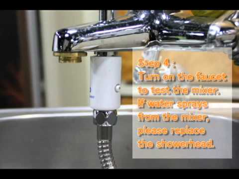 Mermaido Shower Kit Installation Instruction
