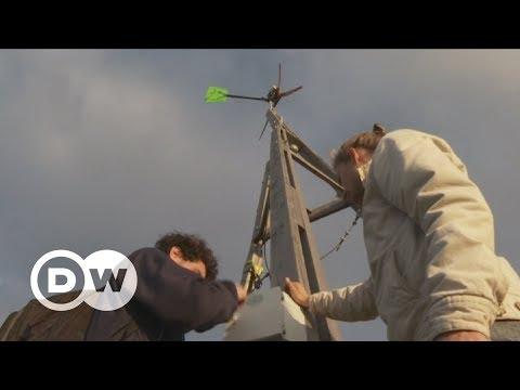Wind of change: The do-it-yourself windmill | DW English