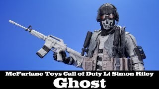 Call of Duty Ghost Lt Simon Riley McFarlane Toys GameStop Action Figure Review