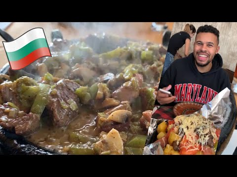 BULGARIAN FOODS YOU HAVE TO TRY - FOOD REVIEW PT 3 🇧🇬
