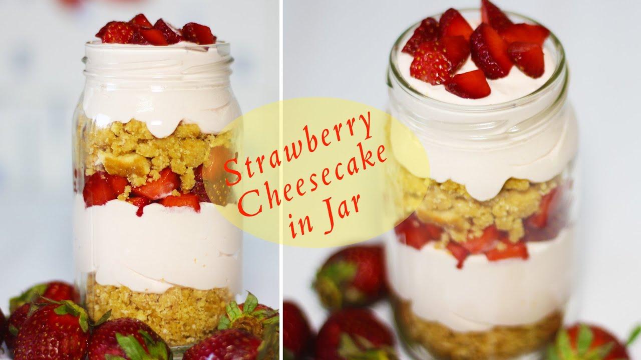 Jar Cake Recipe No Bake