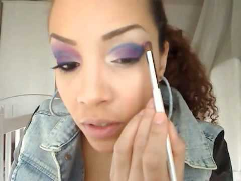 tutorial sp cial maquillage pas cher avec la marque e l f youtube. Black Bedroom Furniture Sets. Home Design Ideas