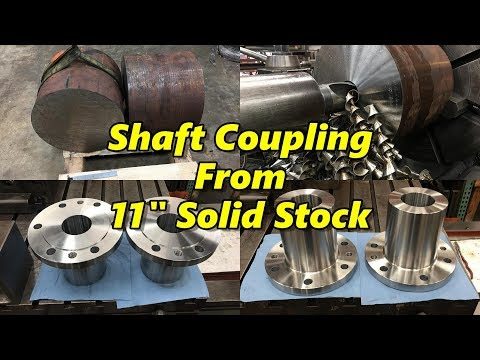 SNS 183: Shaft Couplings Machined on the Pacemaker