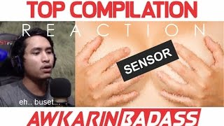 Top Compilation Video Reaction Awkarin - Bad Ass