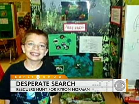Ore. Search for Kyron Horman