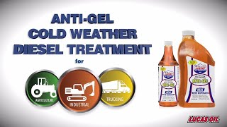 Anti-Gel Cold Weather Diesel Treatment