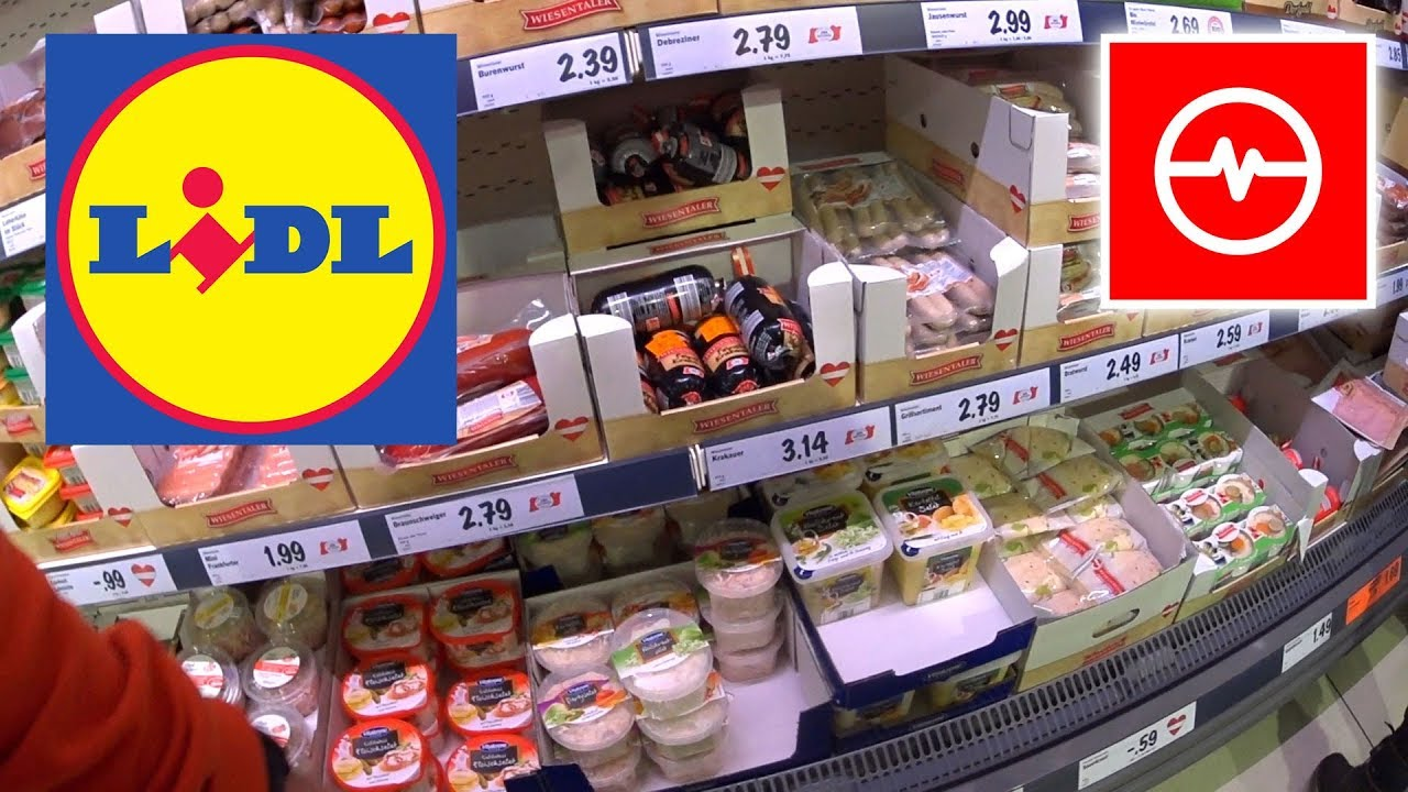 Promocje w Niemieckim Lidlu