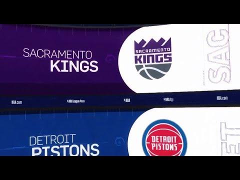 Sacramento Kings vs Detroit Pistons Game Recap | 1/19/19 | NBA