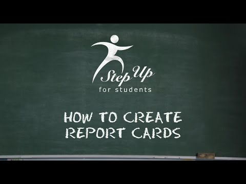 NCCA Report Cards How To DIY.wmv - YouTube