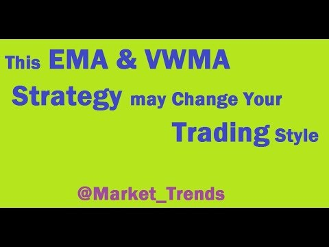 Crossover Strategy of EMA (8) & VWMA (26)