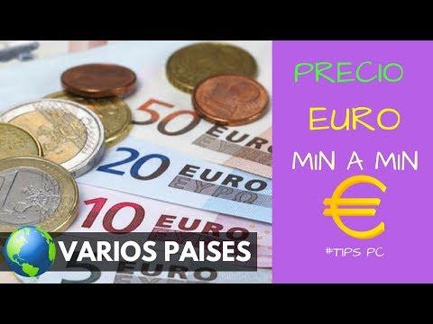 PRECIO Del EURO Hoy 24 De Diciembre Del 2019 - Actualizado MINUTO A MINUTO