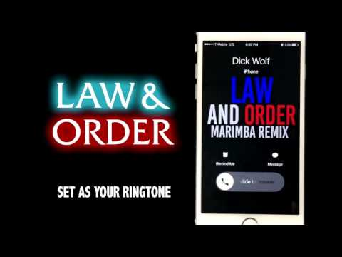 Law and Order Theme Marimba Remix Ringtone