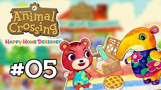 Animal Crossing : Happy Home Designer #05 - On passe dans les jardins !