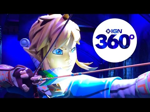 AMAZING 360 Degree Tour of Hyrule (Nintendo's The Legend of Zelda E3 Booth Tour)