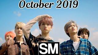 [TOP 100] Most Viewed SM Kpop MVs [October 2019]