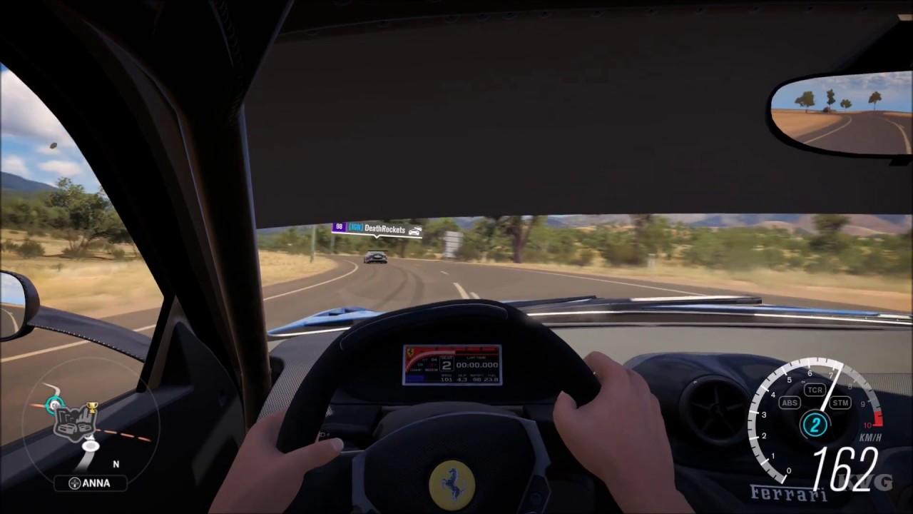 Forza horizon 3 ferrari 599xx 2010 cockpit view open world forza horizon 3 ferrari 599xx 2010 cockpit view open world free roam gameplay hd vanachro Gallery