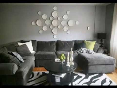 Large Wall Decorating Ideas For Living Room Youtube