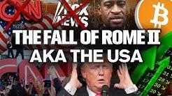 USA Civil CHAOS Erupts!! BITCOINs Time to SHINE!