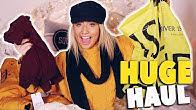 MASSIVE COSY WINTER HIGHSTREET CLOTHING HAUL!! 😱 Jumpers, coats etc.. 😍