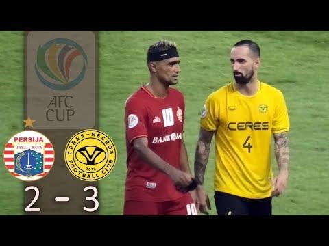 Highlights Persija Vs Ceres Negros (2-3) AFC Cup 2019 Live Stadion Gelora Bung Karno