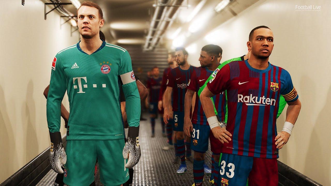 Download Barcelona vs Bayern Munich   UEFA Champions League UCL   Full Match All Goals PES 2021