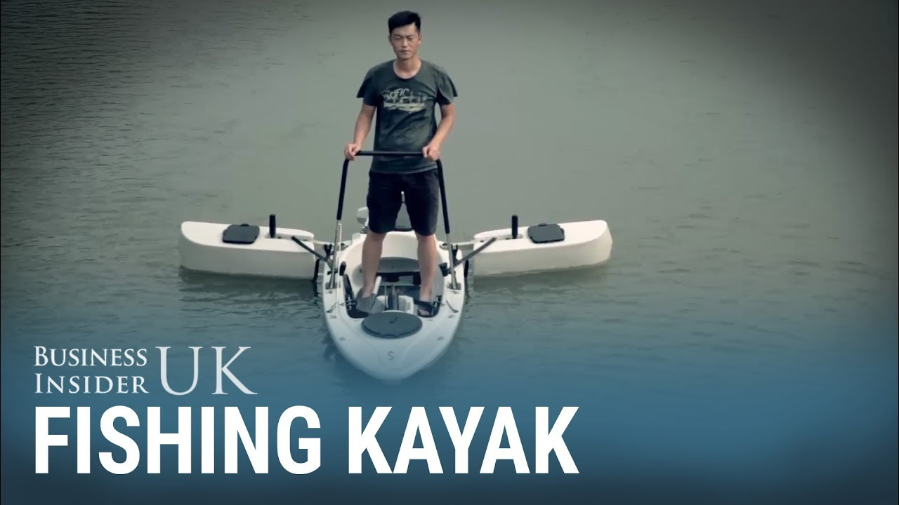 This Motorised Fishing Kayak Opens Out So You Can Stand Up