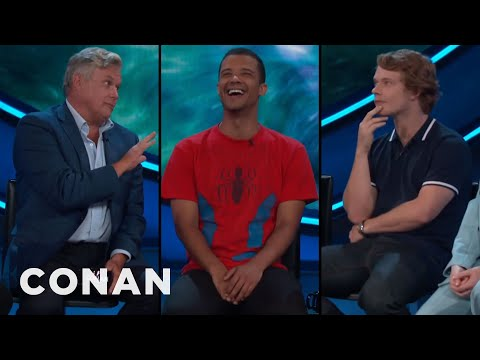 Three Men On The ConanCon Stage Are Eunuchs   CONAN on TBS
