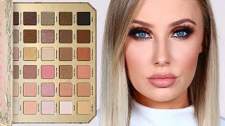 TOO FACED NATURAL LOVE PALETTE - REVIEW & TUTORIAL! | Lauren Curtis