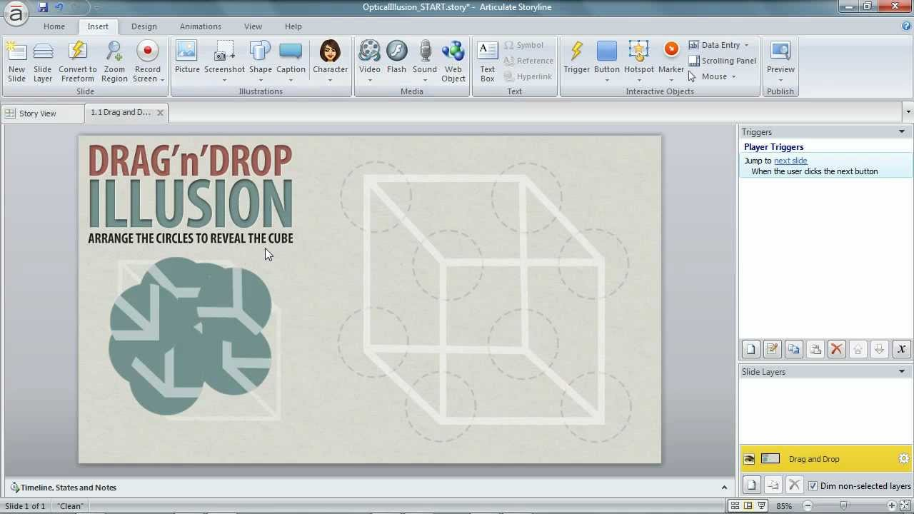 Drag Drop Game Articulate Storyline