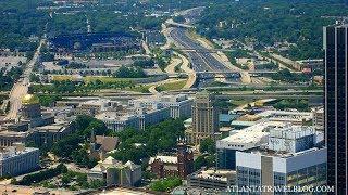 GS4261 Какой необычный город Атланта, Джерджия.