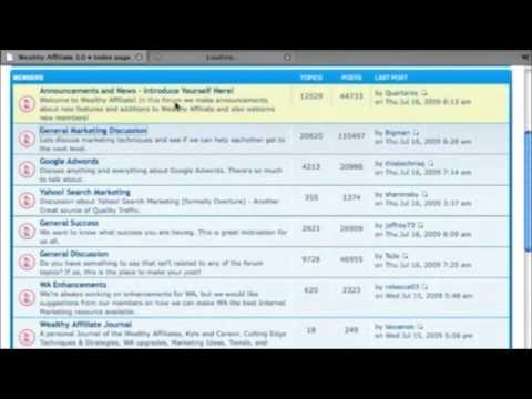 Wealthy Affiliate University - Teaching Success Online