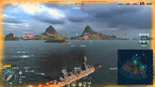 World Of Warships 23.08.2015 -  First in First out