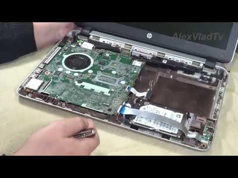 Ремонт ноутбука HP Pavilion, замена кулера...