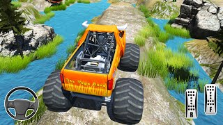 Offroad Monster Truck Stunt Driving Simulator - 4x4 Off road Tracks Driver – Andorid Gameplay #2