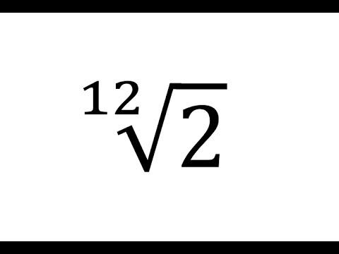 04 Matemáticas de las notas musicales