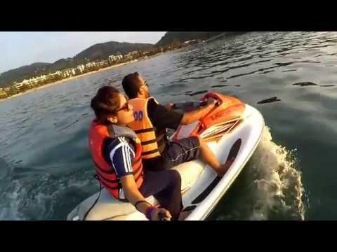 Things to do in Phuket || Koh Phi Phi || Bangkok covered by Xiaomi Action Camera