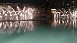 Dubai 2013 The biggest fountain in the world... ''A must See...Kiri Ta Kanawa - o mio babbino caro''