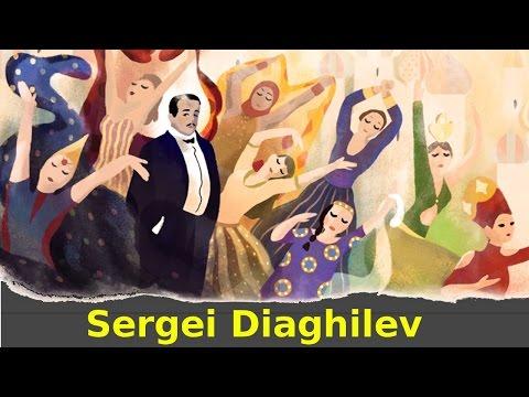 Sergei Diaghilev Google Doodle | QPT