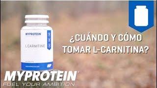 ¿Cuándo y cómo tomar L Carnitina?